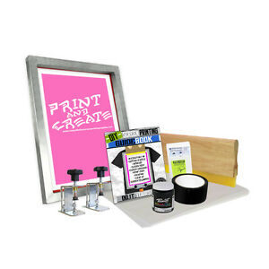 Diy Screen Clamp Kit With print N Create Screen Printing Starter Beginner 00 4