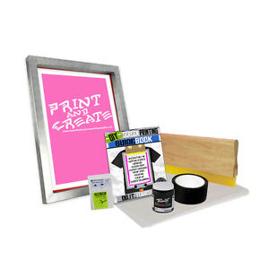Diy Bare Bones Kit With print N Create Screen Printing Starter Beginner 00 2