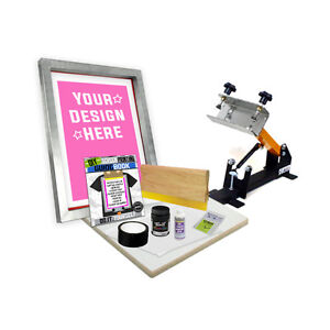 Diy Shocker 101 Kit With Pre burned Screen Printing Starter Beginner 11 3