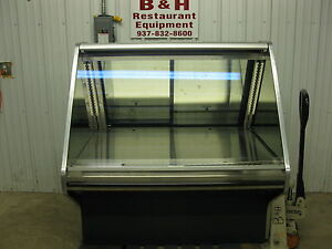 Hussmann 50 Grocery Butcher Shop Meat Cheese Deli Display Case Esbds 4u 4 2