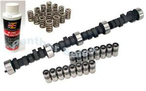 Chevy 283 307 327 350 400 Melling Torque Cam Kit Lifters Camshaft Springs Zinc