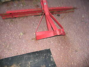 3 Point 3pt 7 Blade For John Deere Ih Ford Case Oliver