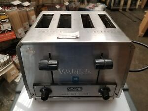 Waring Wct810 Commercial Heavy Duty 4 Slice Toaster