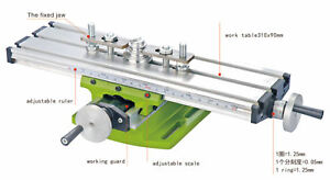 Diy Multi function Milling Machine Mini Lathe W Cross Sliding Table 310 90mm Us