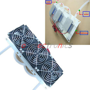 Semiconductor Refrigeration Radiator Thermoelectric Peltier Water Cooling Device