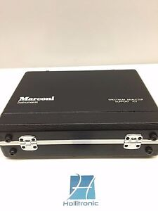 Marconi Instruments 554711 035 Kit Sold As Pictured
