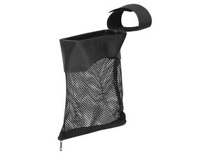 Tactical 223 Zipperd AR Brass Shell Catcher Mesh Bag Picatinny Weaver Rail Black