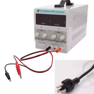 30v 5a Digital Dc Power Supply Precision Variable Adjustable Test Equipment Tool