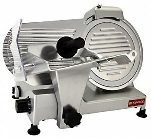 Commercial Electric Blade Meat Slicer Carbon Steel Blade Cheese Food Cutter 10