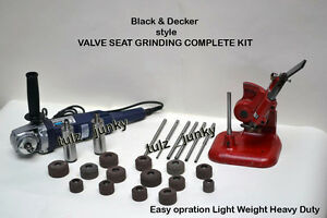 Valve Seat Grinder Complete Kit Holders pilots stones dressing Stand hsg diamond