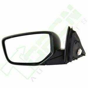 For 2008 12 Honda Accord Coupe Driver Side View Power Left Mirror Ready To Paint