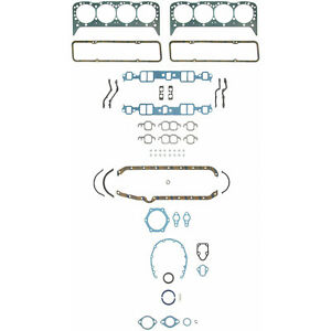 Chevy 265 283 302 307 327 350 Fel Pro Full Gasket Set Head Gaskets 1957 1979
