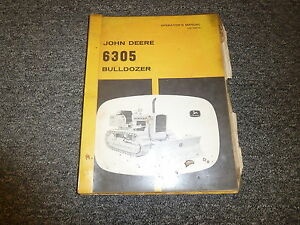 John Deere 6305 Bulldozer Technical Service Repair Manual