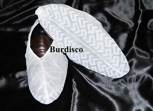 300 Disposable Shoe Covers Non skid Real Estate Large To Mens Size 9 White