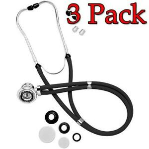 Omron Sprague Rappaport Stethoscope Black 1ct 3 Pack 073796416003s1104