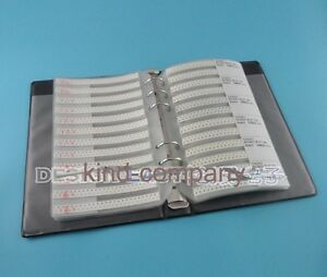 Smd Resistor Assorted Book Kit 0603 5 1 10w 50x 177 Values 8850pcs 0r 20m