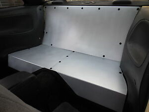 Lrb Speed Aluminum Rear Seat Delete Fits S13 240sx Lhd 89 94 Coupe Only