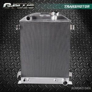 For Ford Model A Ford V8 Upgrade All Aluminum Racing Radiator 1930 1931