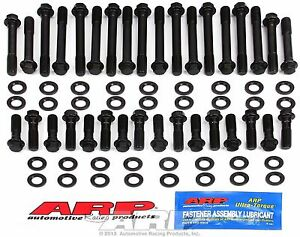 Arp Chevy Lt1 Lt4 350 383 400 Performance Race Cylinder Head Bolt Washer Kit Hex