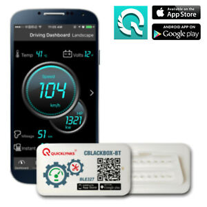 Quicklynks Obd2 Bluetooth Scan Tool Engine For Android Iphone Free App