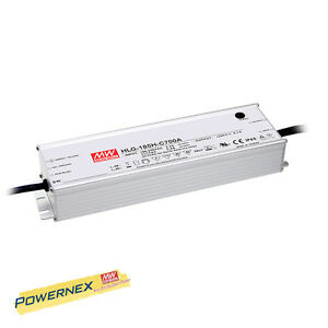 powernex Mean Well New Hlg 185h c700b 700ma 200w 143v 286v Led Driver