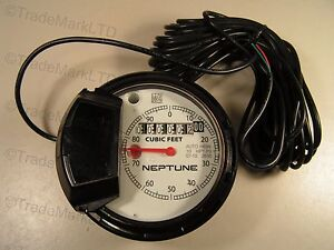 Neptune Register 10 Hpt P3 For Turbine Water Meter Cubic Feet Auto H65n New