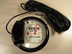 Neptune Register 3 4 T 10 For Water Meter Cubic Feet Auto H65n New