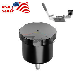Black Cnc Racing Drift Hydraulic Hand Brake Oil Tank Fluid Reservoir E brake
