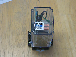 Warrick 16dmc1m0 Level Controller Controls Relay W Base Used But Super Clean