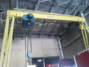 2 Ton Motorized Gantry Crane