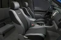 Genuine Oem Toyota Tacoma 2005 2008 Graphite Black Gray Front Seat Covers Non Sp