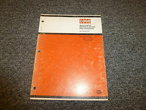 Case Vibromax Aw750 Aw1250 Av1500 Plate Compactor Part Catalog Manual 1285