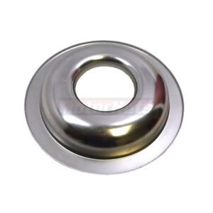 14 Round Spun Aluminum Air Cleaner Base Only Street Hot Rod Sbc Bbc Muscle Car