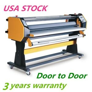 Usa 110v 67 Stand Frame Full auto Single Side Wide Format Hot Cold Laminator