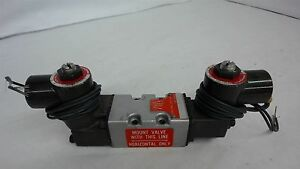 Schrader Bellows Lb0 6 Solenoid With 2 41000 8115 120 Volts 60hz Valves