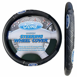 Ford Triton Steering Wheel Cover Universal Size 14 5 15 5 Medium Size Cover