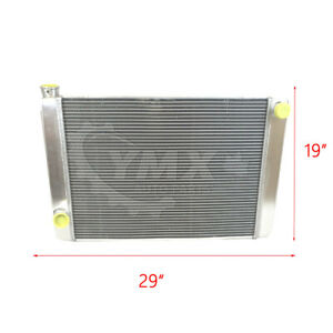 New Ford Mopar Universal Aluminum Racing Radiator 29 X 19 X 3 2 Row