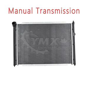 Radiator For Vw Volkswagen 80 91 Vanagon 85 94 Transporter Manual Trans Cu357
