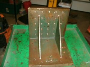 Precision Ground Cast Iron Angle Iron Plate 12 X 12 X 12 Shipping Available