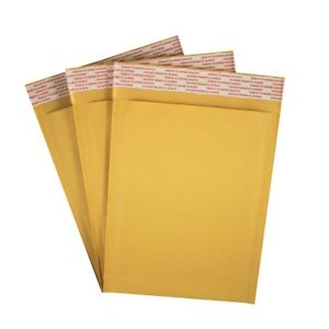 6 5 X 9 Kraft Bubble Mailers 0 Self Seal Padded Shipping Envelope 100 Pack