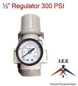Air Pressure Regulator For Compressor Compressed Air 1 2 Free Gauge