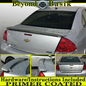 2006 2013 Chevy Impala Ss Factory Style Spoiler Abs Trunk Wing Primer