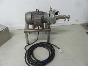 Cherry Burrell Stainless Steel Centrifugal Waukesha Pump 2065 used And Tested