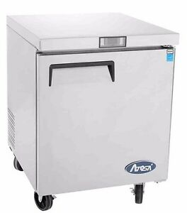 Atosa Mgf8401 Commercial 27 Undercounter Refrigerator