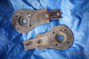 1961 1962 1963 Ford T bird Upper Shock Tower Fender Bracket Ends used 61 62 63