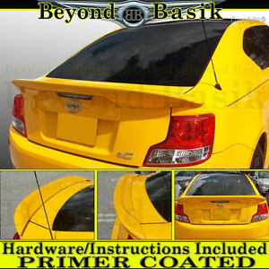 2011 2017 Scion Tc Factory Style Spoiler Rear Trunk Wing Fin Abs Primer