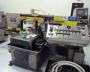 He m 1200a Automatic Horz Band Saw 1 25 Blade Width 14 X 16