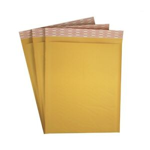 100 2 8 5 X 12 Kraft Bubble Padded Mailers Envelopes Self Seal