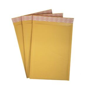 7 25 X 11 1 Kraft Bubble Mailers Self Seal Padded Envelopes Case Of 100