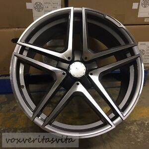 20 Amg 2017 S65 Style Wheels Rims Fits Mercedes Benz Cls500 Cls550 Cls55
